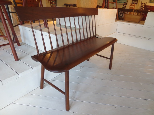 windsor chairs bench